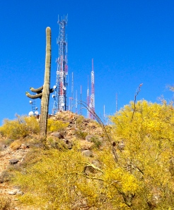 Towers of South Mountain
