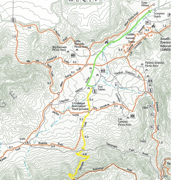 Ranger Trail Map